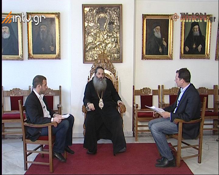"""""""διάΛογος"""" Συνέντευξη με τον Μητροπολίτη Πειραιώς κ.κ. ΣΕΡΑΦΕΙΜ"""