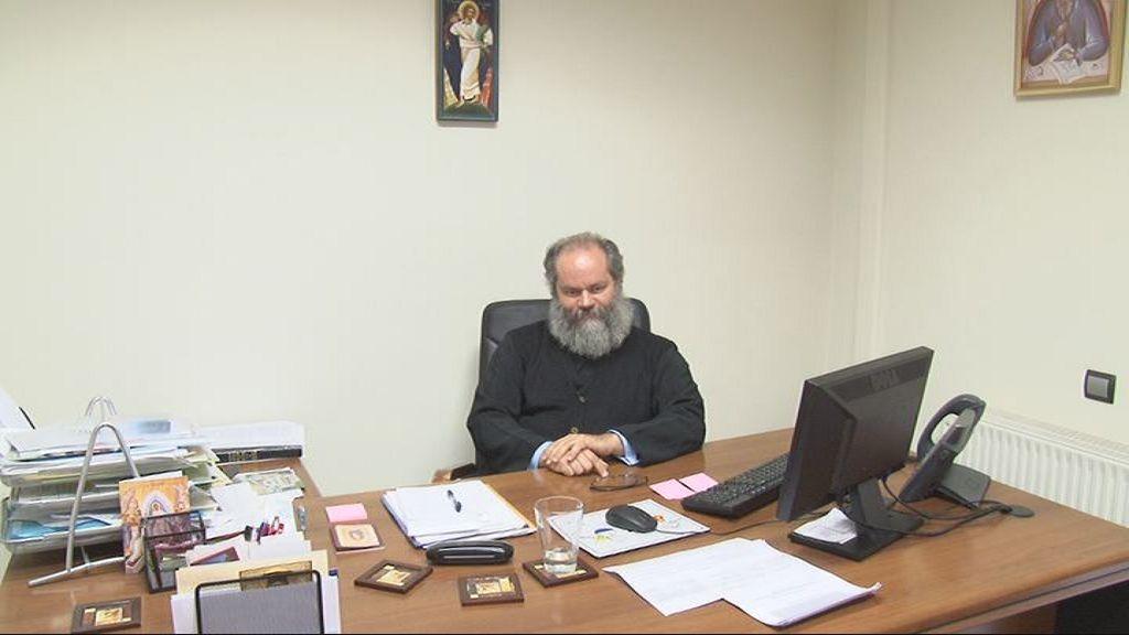 Αρχιμ. π. Συμεών Βενετσιάνος - Δ/ντής Γραφείου  Νεότητος της Ιεράς Αρχιεπισκοπής Αθηνών -  Έναρξη της Νέας Κατηχητικής Xρονιάς  2013 - 2014